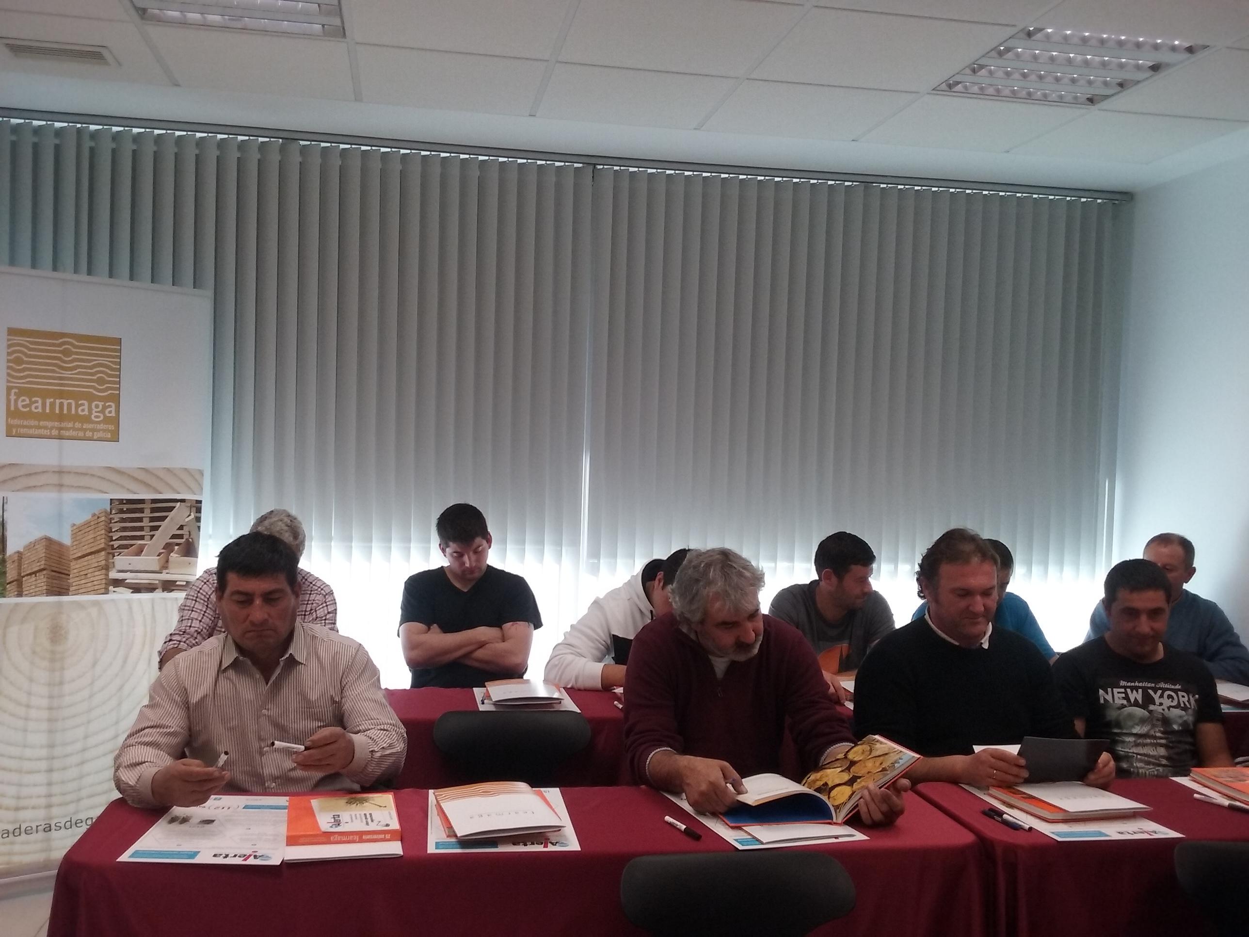 Participantes del curso