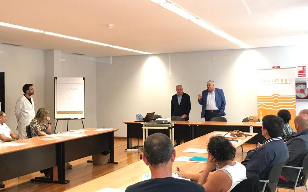 Aserraderos gallegos ensayan en el CIS Madeira de Ourense técnicas de secado y tratamiento fitosanitario de la madera para asegurar su calidad