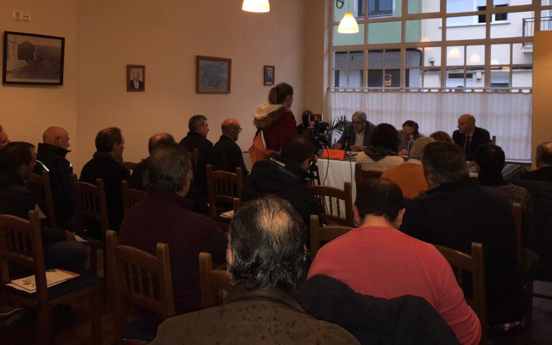 Pymes forestales de las comarcas de Noia, Muros y Barbanza participaron en un encuentro para conocer las líneas de apoyo para la industria forestal