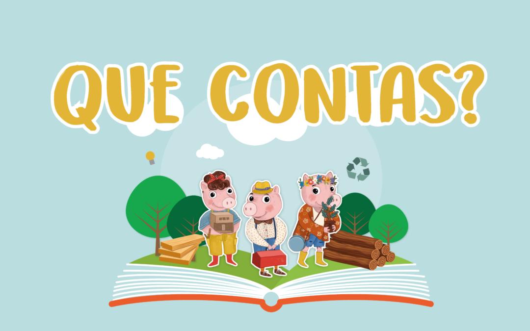 'Los tres cerditos' más sostenibles gracias a los escolares gallegos
